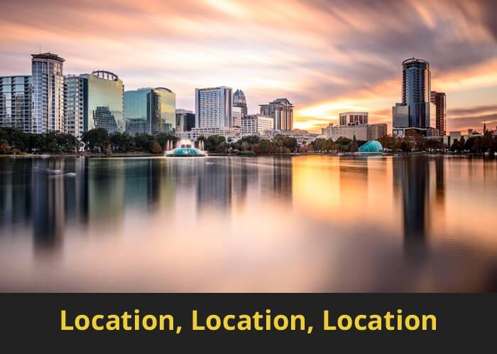 לוקיישן - אורלנדו, פלורידה, ארצות הברית